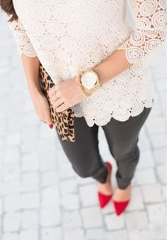 That Lace Top.