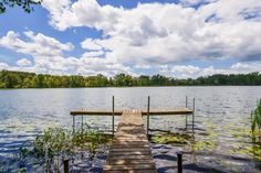 This amazing lake view is all yours at 5509 Scalley Lake in Belding!