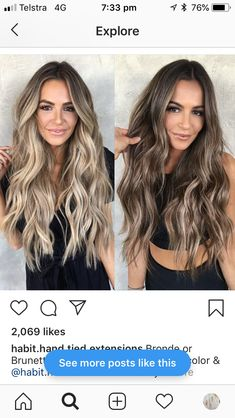 Hairdressing Advice That Will Keep Your Hair Looking Great Blonde Hair For Cool Skin Tones, Honey Blonde Hair, Brunette Hair, Cool Tone Brown Hair, Bayalage Brunette, Hair Color And Cut, Brown Hair Colors, Dark To Light Hair, Boliage Hair