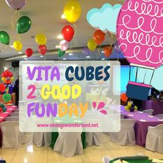 VITA CUBES 2 Good Fun Day at the Active Fun, BGC!!!
