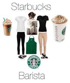 Starbucks Barista In Training Starbucks Dress Code, Starbucks Uniform, Starbucks Clothes, Starbucks Halloween Costume, Cute Halloween Costumes, Halloween 2017, Working At Starbucks, Starbucks Barista Training, Barista Starbucks