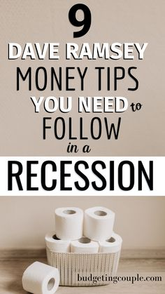 9 Essential Dave Ramsey Tips You Need to Try in 2020 Budgeting Finances, Budgeting Tips, Money Tips, Money Saving Tips, Money Hacks, Financial Tips, Financial Peace, Financial Literacy, Financial Planning