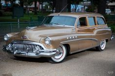 1952 Buick Station Wagon