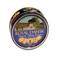 Royal Dansk Danish Butter Cookies, 12 oz. Tin --- http://www.amazon.com/Royal-Dansk-Danish-Butter-Cookies/dp/B000EFPVLY/?tag=pintrest01-20