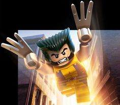 Images From Lego Marvel Super Heroes - Minifigs Strike Big Poses