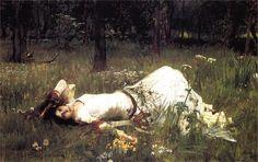 Ophelia   ~ John William Waterhouse 1889