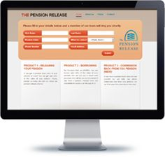 The Pension Release Company website built with PHP/HTML, JQuery.