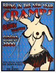 """Mood: shagged out Music: The Cramps-New Kind of Kick I was getting ready to go out on a date the other day, and """"Garbageman"""" by The Cramps came on the bathroom boombox. I love The Cramp…"""