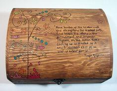 Wedding Card Box Wood Beach Themed by inspiredbymarie on Etsy, $90.00