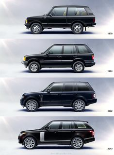 The Land Rover Range Rover Evolution (images source Carscoop)