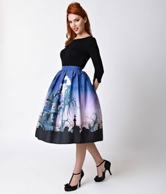 Halloween dresses, skirts, and accessories