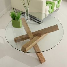 Haxby Coffee Table: This would be super cute as dining room table inspiration