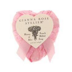 Honey and Aloe French Milled Soap wrapped in assorted beautiful tissue with matching bows. Each soap also has wonderful embossed flower texture on one side.