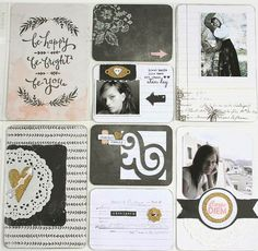 Passion 4 papercrafting: Project life page