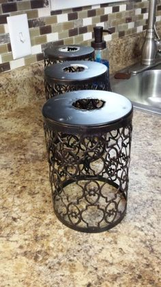 This is so clever! Turn candle holders into pendant lighting! #upcycled #lightingideas #diyproject