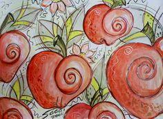 Tinta acrílica sobre cartolina