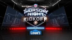 This is a montage of the work I did at Troika for CBS Thursday Night Football. This includes the main graphics package as well as the promo package.