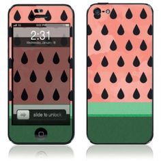 Watermelon iphone 5 Skin and Case