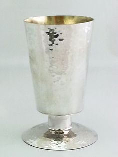 Sterling silver Handmade Stable cup by STUBSILVERWARE on Etsy