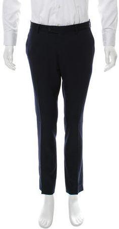 Bottega Veneta Five-Pocket Wool Pants Mens Dress Pants, Wool Pants, Straight Leg Pants, Bottega Veneta, Pajama Pants, Pocket, Stylish, Tops, Fashion