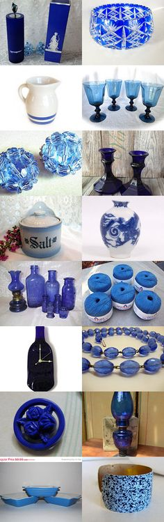 Blue.....teamvintageusa by msmunlimited1 on Etsy--Pinned with TreasuryPin.com
