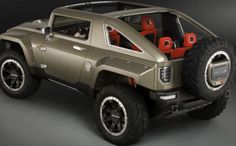 2018 Hummer H4 Wheels