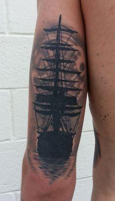 Best Tattoo Πλοίου για τους άνδρες