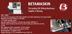 CNC Milling Machinery Suppliers | Beta Maskin in Norway