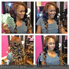 Miracle Watts hair done by hawtcoco.  Houston, Texas
