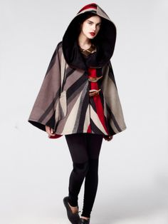 Lindsay Thornburg Trench Cloak | Made in the USA #fashiontakesaction
