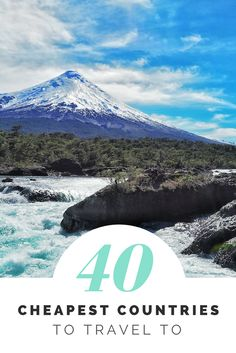 Think you don't have money to travel? Think again! Here's some inspiration and budget breakdowns for 40 amazing countries across 5 continents!