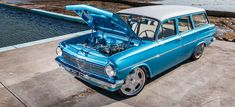 Ben Judd mixes classic and cutting-edge to create a drop=dead gorgeous Holden EH streeter that was the talk of Motorex 2017 Holden Wagon, Holden Australia, Australian Cars, Car Colors, Drag Cars, Motocross, Vintage Cars, Cool Cars, Old School