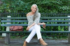 """How This 63-Year-Old Model Stays Gorgeous #refinery29  http://www.refinery29.com/51442#slide-4  What are your at-home beauty rituals?  """"Early to bed, early to rise, yoga, dancing, jumping rope, and walking. A mostly vegan diet with lots of veggies and fruit. Boomsilk and only safe products on my skin, like Boomsticks!"""""""