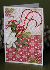 Creations by Jolan: Christmas Card by Jolanda Meurs