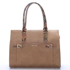 22cc0adf75 Luxusní dámská kabelka camel - David Jones Nancy