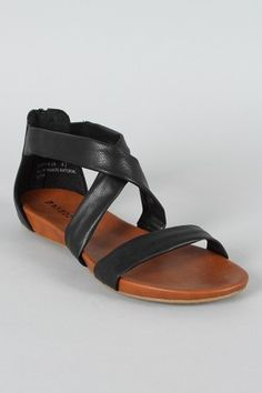 I'd love a nice pair of black sandals