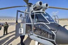 Este es el nuevo helicóptero Superpuma H215  destinado al Servicio Aéreo de Rescate (SAR)