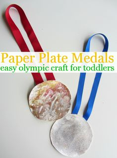 olympic medal craft for toddlers