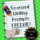 NO need to PREP when you can JUST PRINT! These seasonal writing prompts are the perfect way to get your students excited about writing! This freebi...