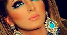 South Asian wedding makeup is part of South Asian Bride Magazine Pakistani Wedding - Indian bridal makeup and Pakistani wedding makeup inspiration for your wedding day From a smokey eye to a red lip find your wedding look here Asian Bridal Makeup, Bridal Makeup Looks, Makeup Trends, Makeup Ideas, Makeup Tips, Bollywood Makeup, Bollywood Wedding, Bollywood Style, Kajal