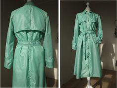 Rare original Vintage 70's juicy green by VintageVanillaShop
