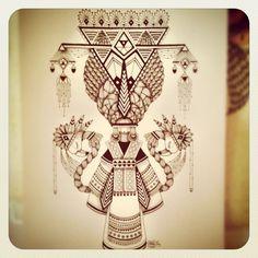 Tattoo idea Koralie (Pris avec Instagram) www.koralie.net www.facebook.com/koralie.koralie www.metroplastique.com