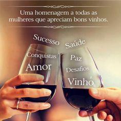 Dia das mulheres com vinho!