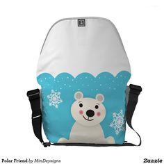 Polar Friend Messenger Bag