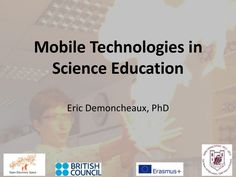 Use of Mobile Technologies in Science Education