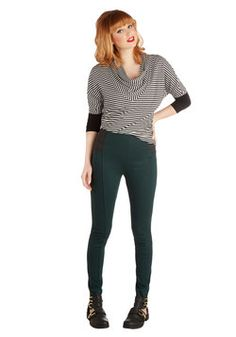 Mashup and Coming Leggings in Evergreen, #ModCloth