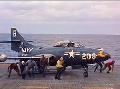 Amazing facts about the Grumman Panther; first carried-based fighter jet of US Navy Us Navy Aircraft, Us Military Aircraft, Military Jets, Military Weapons, Fighter Aircraft, Fighter Jets, Grumman Aircraft, War Jet, Airplane For Sale