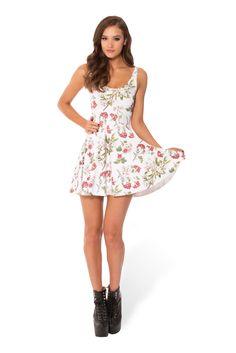 Gorgeous Garden White Scoop Skater Dress › Black Milk Clothing $85