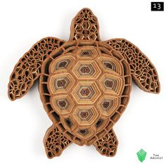 Multilayered intricate Laser cut Arts and Crafts by TheeArchist