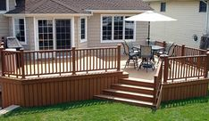 9 Deck Plans Sizes Available For This Lovely Deck That